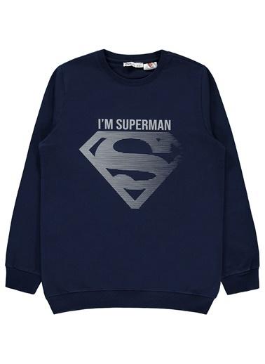 Superman Erkek Çocuk Sweatshirt  Lacivert